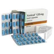 Xenical 120 mg 84 Hartkapseln Orlistat Blisterpackung