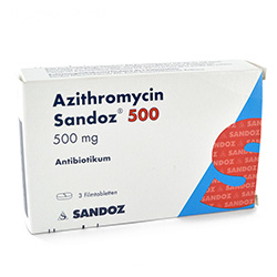 Azithromycin verpackung