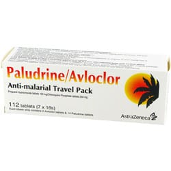 Paludrine Avloclor Verpackung