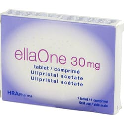 ellaOne 30mg pack