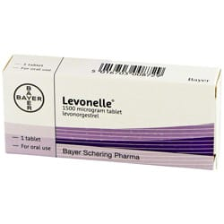 Levonelle pills pack