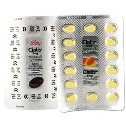 Cialis Daily Tablets Close Up