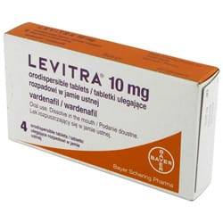 Levitra Orodispersible - 10mg Dissolvable Tablets