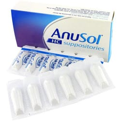 Anusol HC suppositories