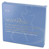 Nuvaring 0.120 mg 0.015 mg forpakning forside