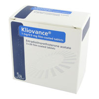 Activelle kliovance 1 mg 0.5 mg 3x28 tabletter forpakning forside
