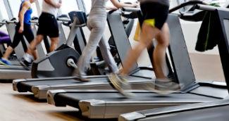 Exercício físico no ginásio
