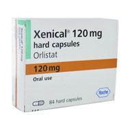 Embalagem Xenical 120mg, 84 cápsulas
