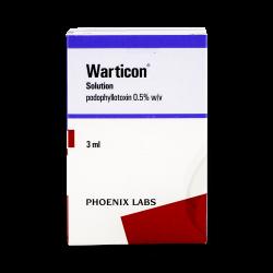 Wartec (Podofilotoxina)