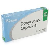 embalagem de Doxiciclina