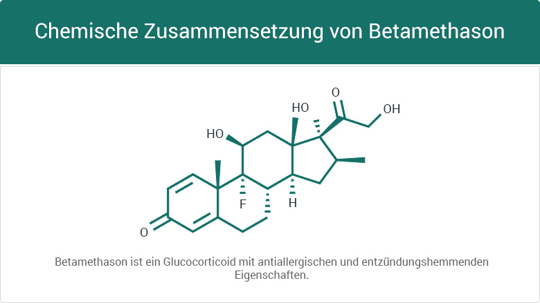 Chemische Zusammensetzung von Betamethason