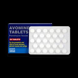 Avomine (Promethazin)