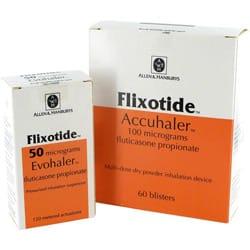 Pack of Flixotide Accuhaler and Evohaler